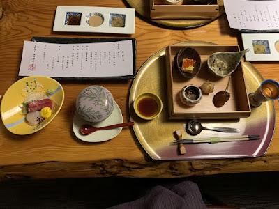 日景温泉の夕食