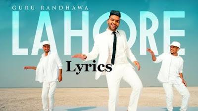 Lahore Lyrics