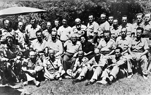 Haganah command