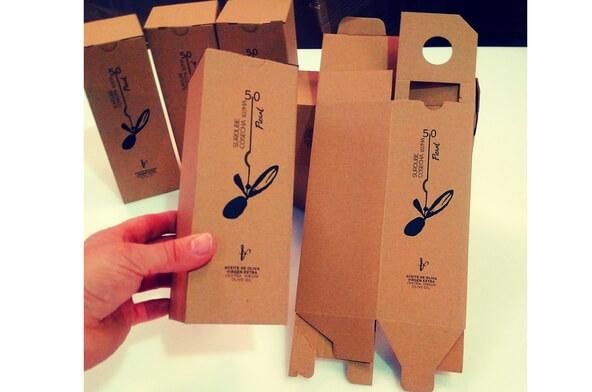 cajas de carton para aceite de oliva