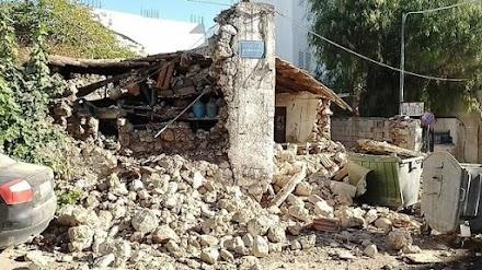 Εικόνες απο τις ζημιές και video απο την ώρα του σεισμού στην Κρήτη