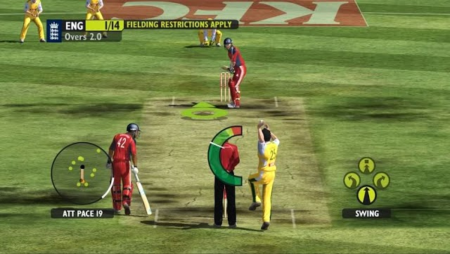 Cricket 2015 IPL DLF Free Download Game