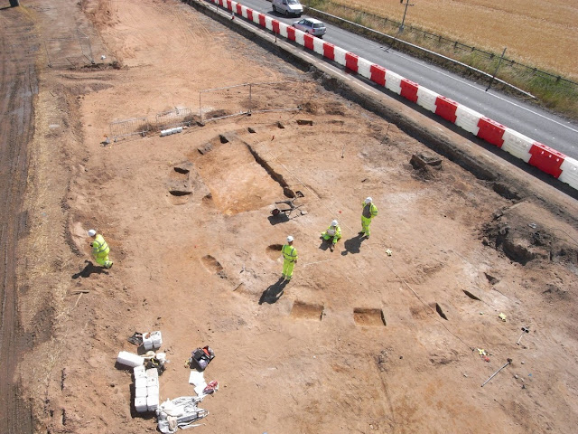 Roadworks reveal remains of Iron Age village in York