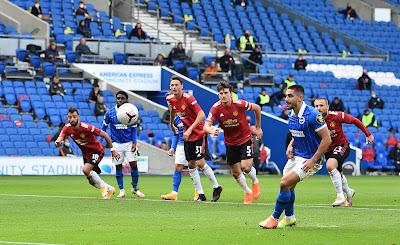 ملخص واهداف مباراة مانشستر يونايتد وبرايتون (3-2) الدوري الانجليزي