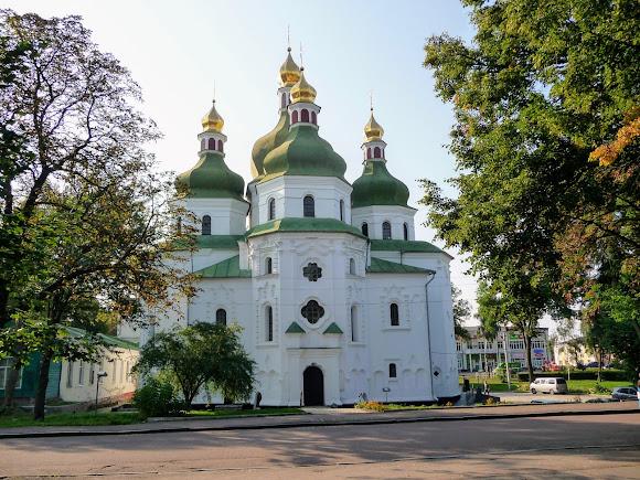 Ніжин. Вул. Гоголя. Собор св. Миколи Чудотворця. 1668 р.