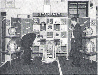 A special display of Genuine Standard Spares. Always look for the sign of genuine parts denoted by the word STANPART