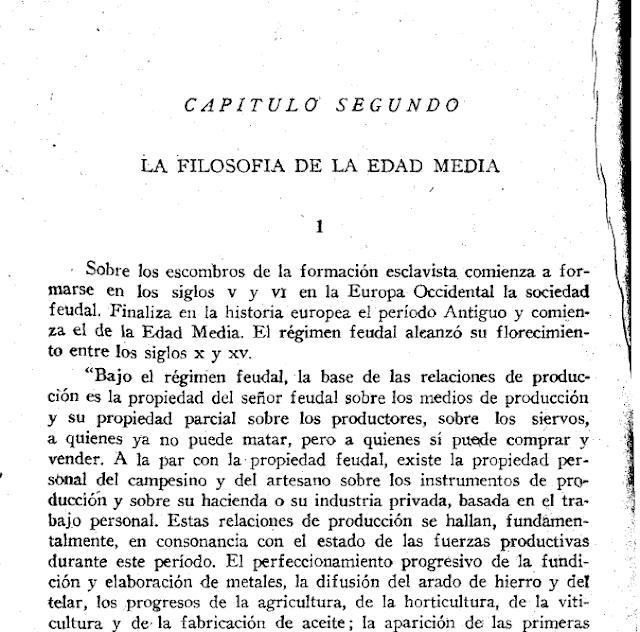 La filosofía de la Edad Media.- O. Trajtenberg, 1942