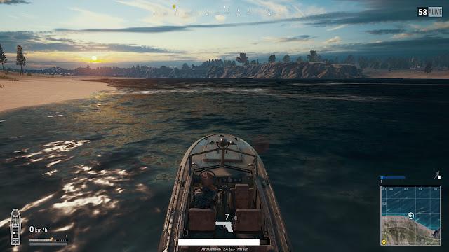PUBG Tekne Boat