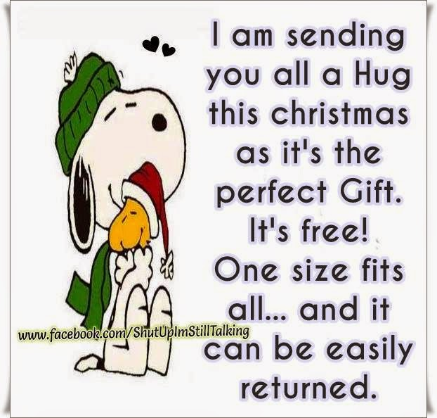 I Ll Be Home For Christmas Quotes: Im Sending You All A HUG This Christmas As It's The