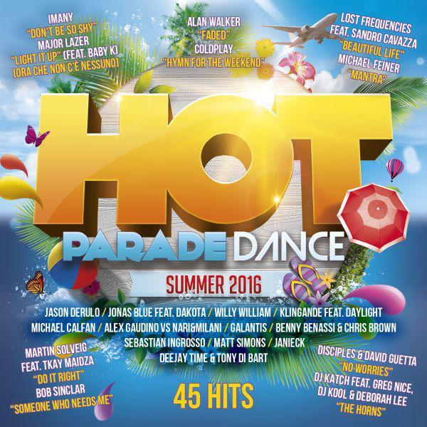 CD Hot Parade Dance Summer 2016