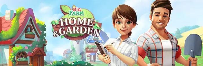 Big Farm: Home & Garden حل الألغاز الصعبة للمساعدة في تصميم وتخصيص وتزيين مزرعة أحلامك المثالية بأثاث جميل وديكور والكثير من الحيوانات اللطيفة