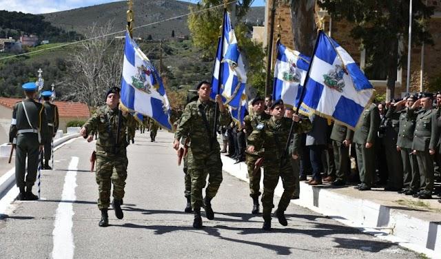 96 ΑΔΤΕ (ΧΙΟΣ): Νέος Διοικητής ο Ταξίαρχος Κωνσταντίνος Κολοκοτρώνης