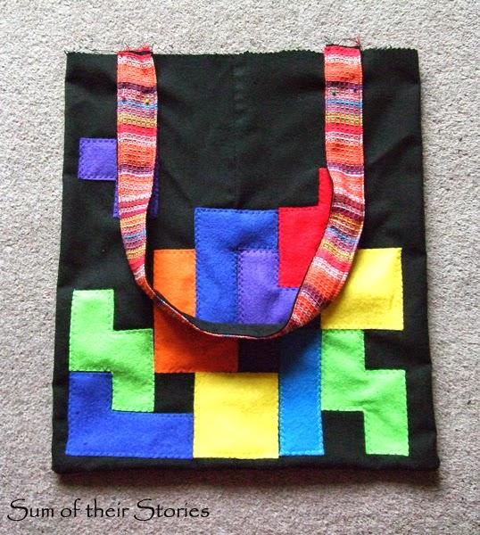 Tetris Tote Bag Tutorial