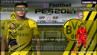 [500MB] PES 2021 PPSSPP Camera PS5 Android Offline Best Graphics New Face Kits & Transfer Update