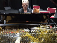 Kate Ryder, artistic research, expanded pianos