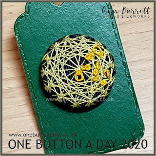 One Button a Day 2020 by Gina Barrett - Day 147 : Hayfever