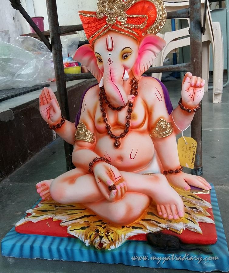 Swami Samarth Ganesha, Ganesh Chaturthi, Mumbai