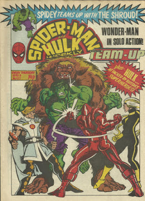 Spider-Man and Hulk Weekly #422, Team-Up