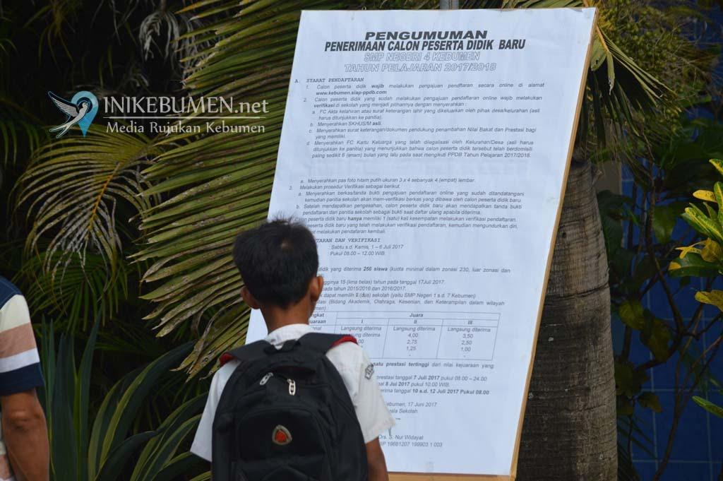 Catat! PPDB SD dan SMP di Kebumen Mulai Dibuka 24 Juni