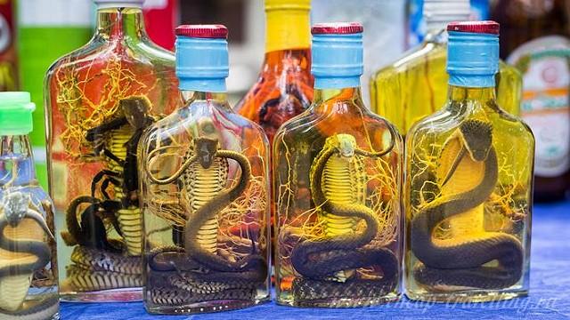 Спиртное их Вьетнама