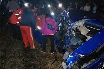 7 Orang Tewas Akibat Kecelakaan Mobil vs Kereta di Bekasi