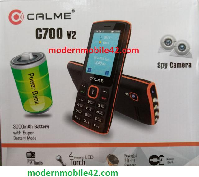calme c700 v2 selfie flash file cm2