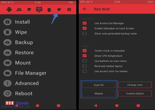Cara pasang TWRP RedWolf Xiaomi Redmi Note 4/4X Snapdragon