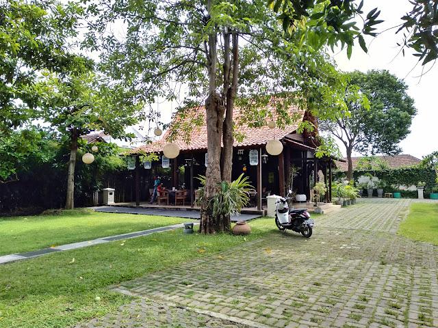 Rumah Tikel di dalam pendopo Bupati Banyuwangi