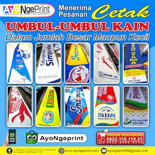 Cetak Umbul-umbul Kain Promosi Cepat & Murah di Jakarta Selatan