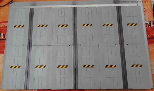 Décor Hangar à Gundam VHS Diorama