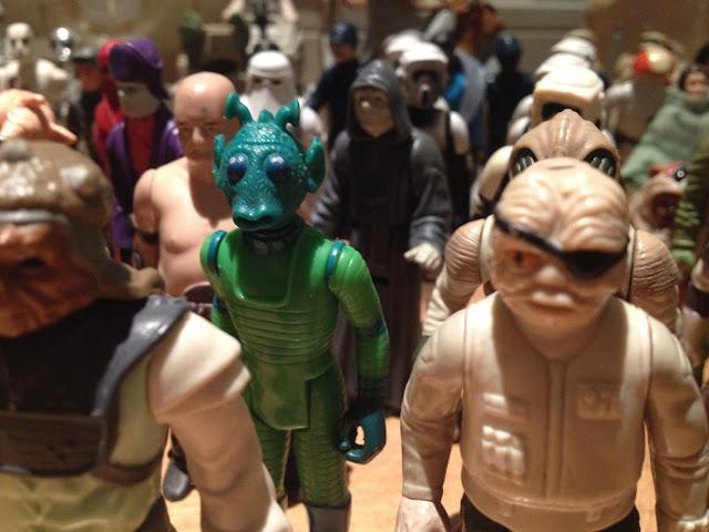 Aquellos maravillosos años 80's - Muñecos de Star Wars - Star Wars Toys - Star Wars - Millennium Falcon - La guerra de las galaxias - ÁlvaroGP - Álvaro García - el fancine - el troblogdita
