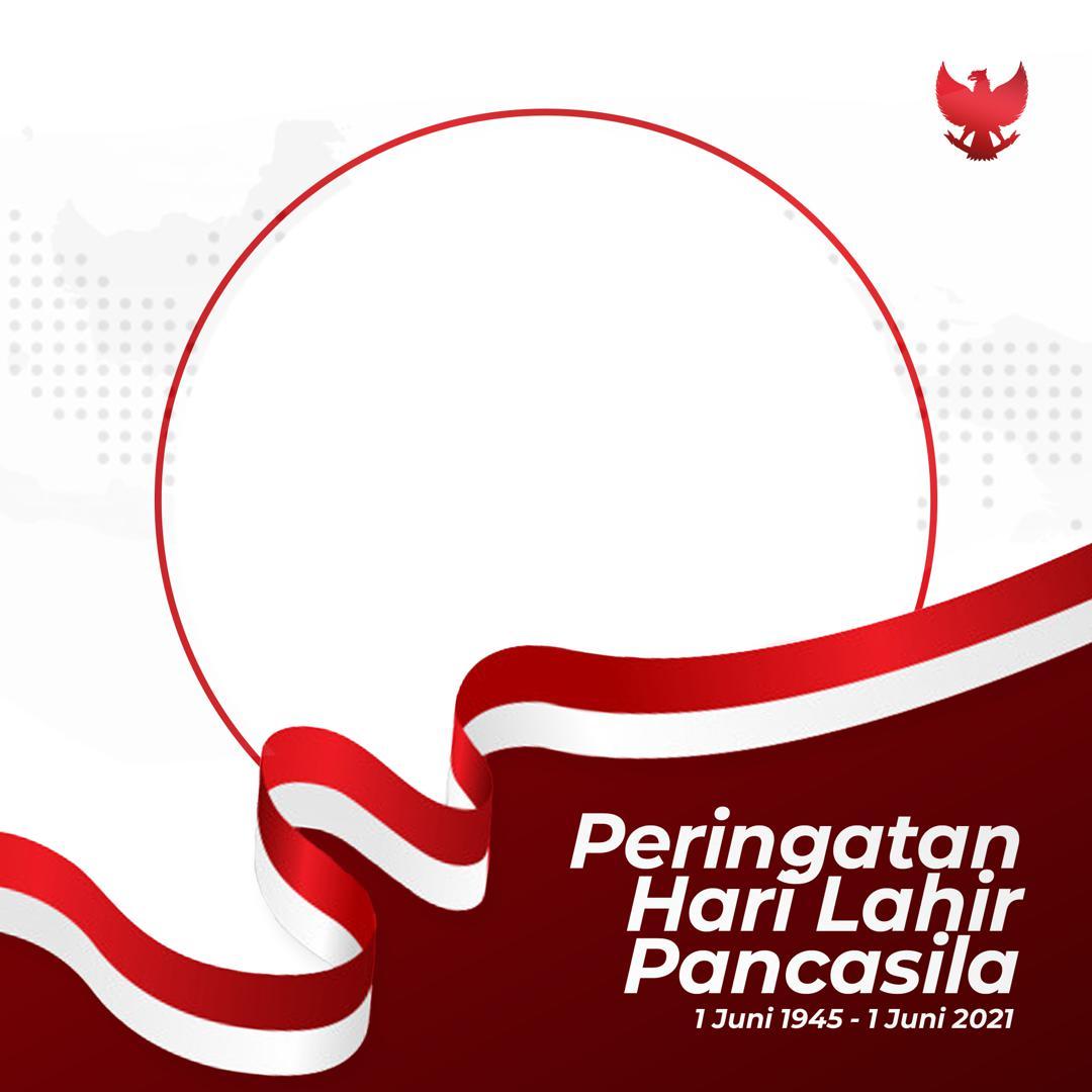 Gratis Gambar Twibbon Peringatan Hari Lahir Pancasila 2021 - Twibbonize