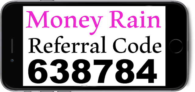 MoneyRain Invitation Code, Referral Code, Sign UP bonus and Reviews 2018-2019
