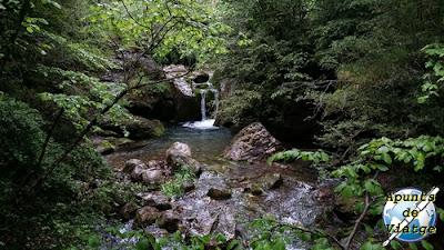Cerca de la fuentes del río Llobregat