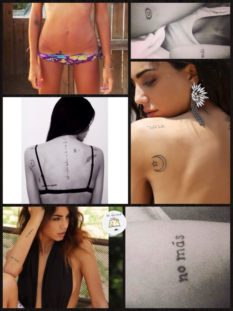 tatuaggi chiara biasi