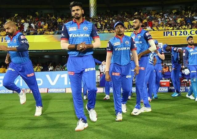Ipl 13 : kings xi punjab vs delhi capitals  के मैच से पहले दिल्ली को लगा बड़ा झटका यह खिलाड़ी हुआ बहार