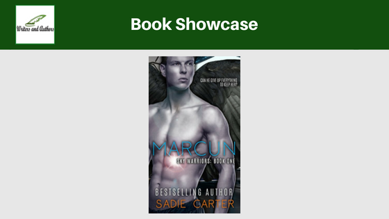 Book Showcase: Marcun (Sky Warriors Book 1) by Sadie Carter