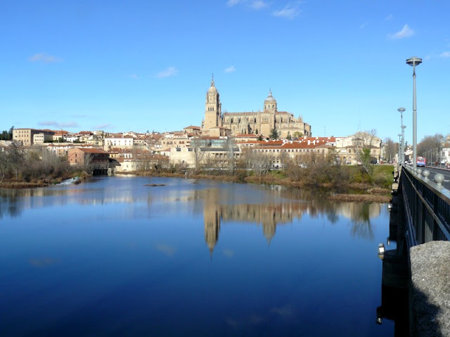 Vistas de la Catedral Salamanca