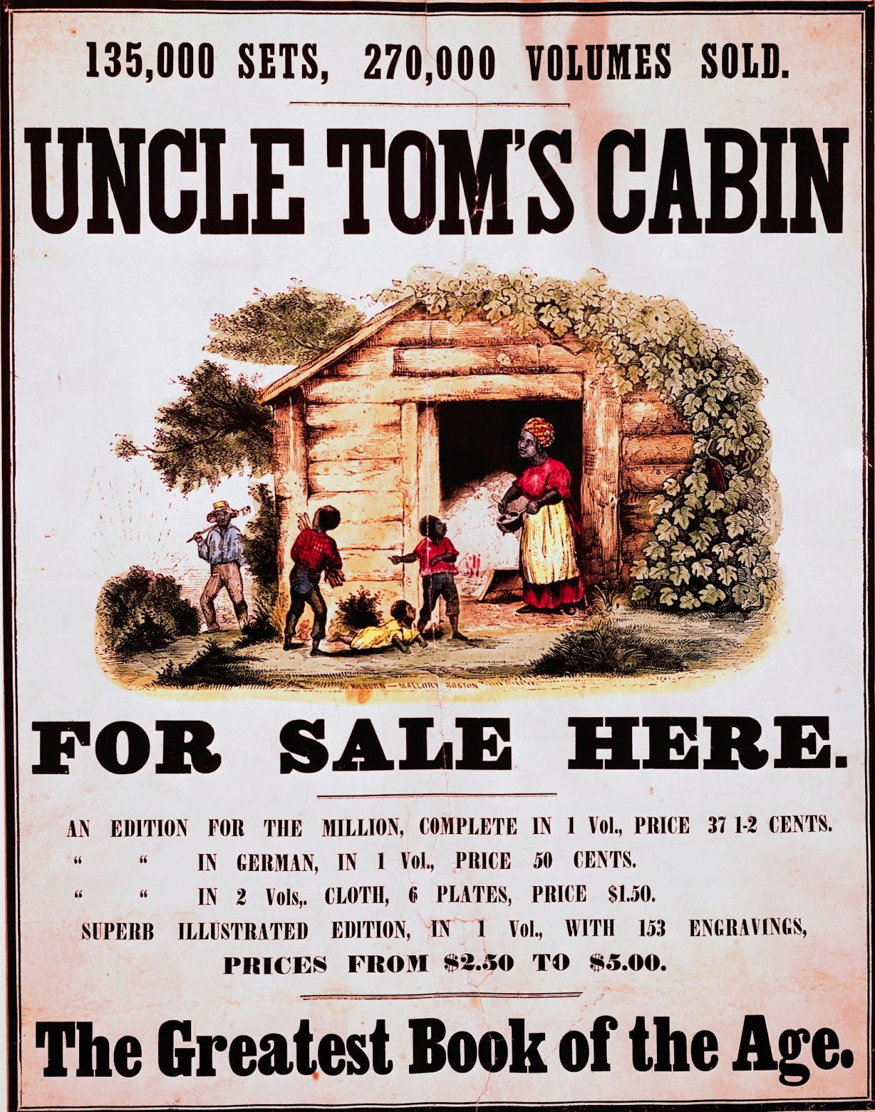 Tom as a Moral Miracle in Uncle Tom's Cabin