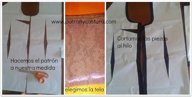 http://www.patronycostura.com/2015/12/vestido-entallado-con-pinzas-diytema-147.html