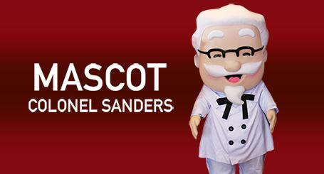 KFC Kiddie Party - Colonel Sanders Mascot