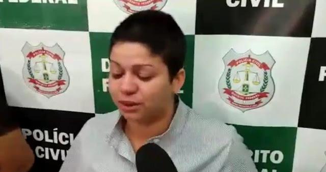 MACABRO: Vídeo: companheira descreve esquartejamento