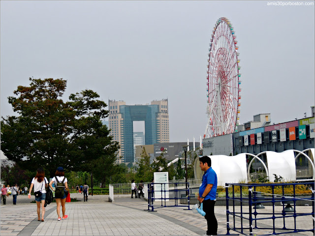 Daikanransha, La Noria de Odaiba en Tokio