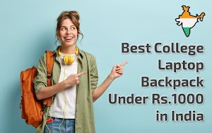 Best College Laptop Backpack Under Rs.1000 in India