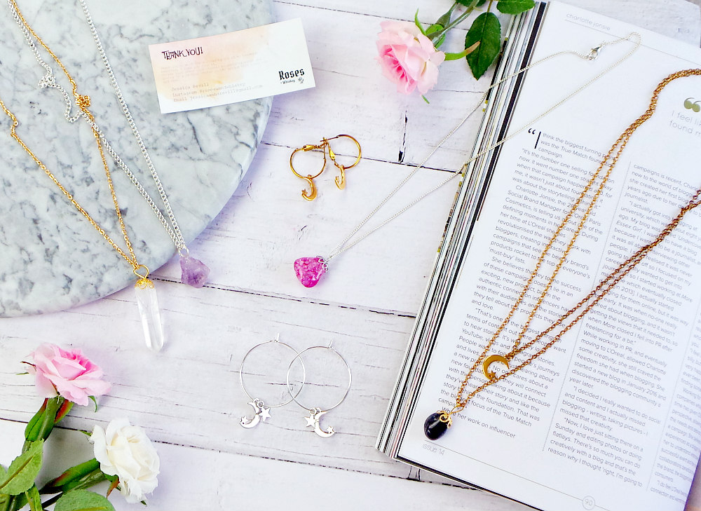 Roses + Whiskey jewellery