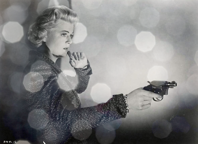 Please Murder Me! - Angela Lansbury pointing a revolver