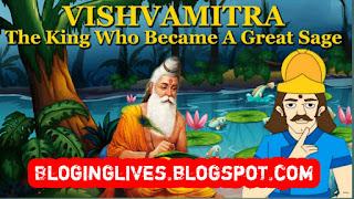Sage story of Rishi vishwamitra