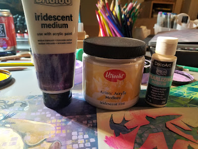 Art Journaling with StencilGirl® Products by Karen P. Johnson
