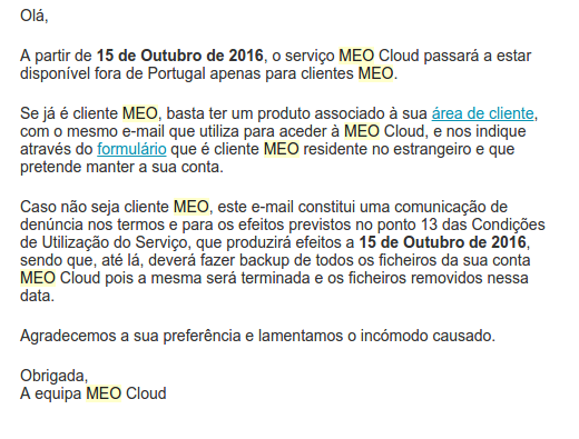 MEO Cloud