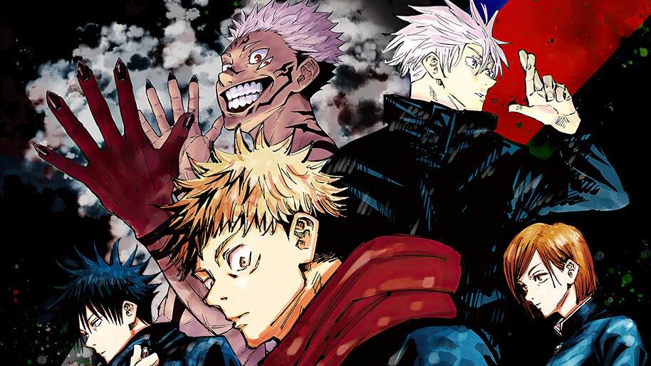 Jujutsu Kaisen, Anime, Characters, 4K, #3.2776